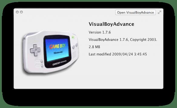 game boy advanced emulator