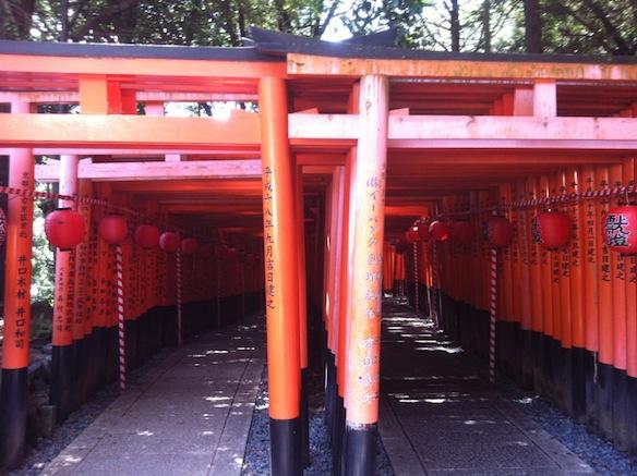 KyotoTempleGates