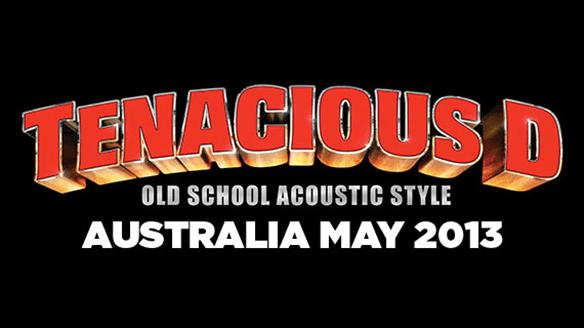 Tenacious D Old school acoustic style, Australia