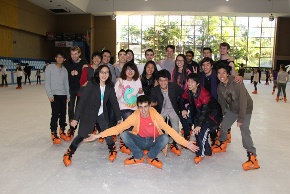 UTS Anime Club on Ice