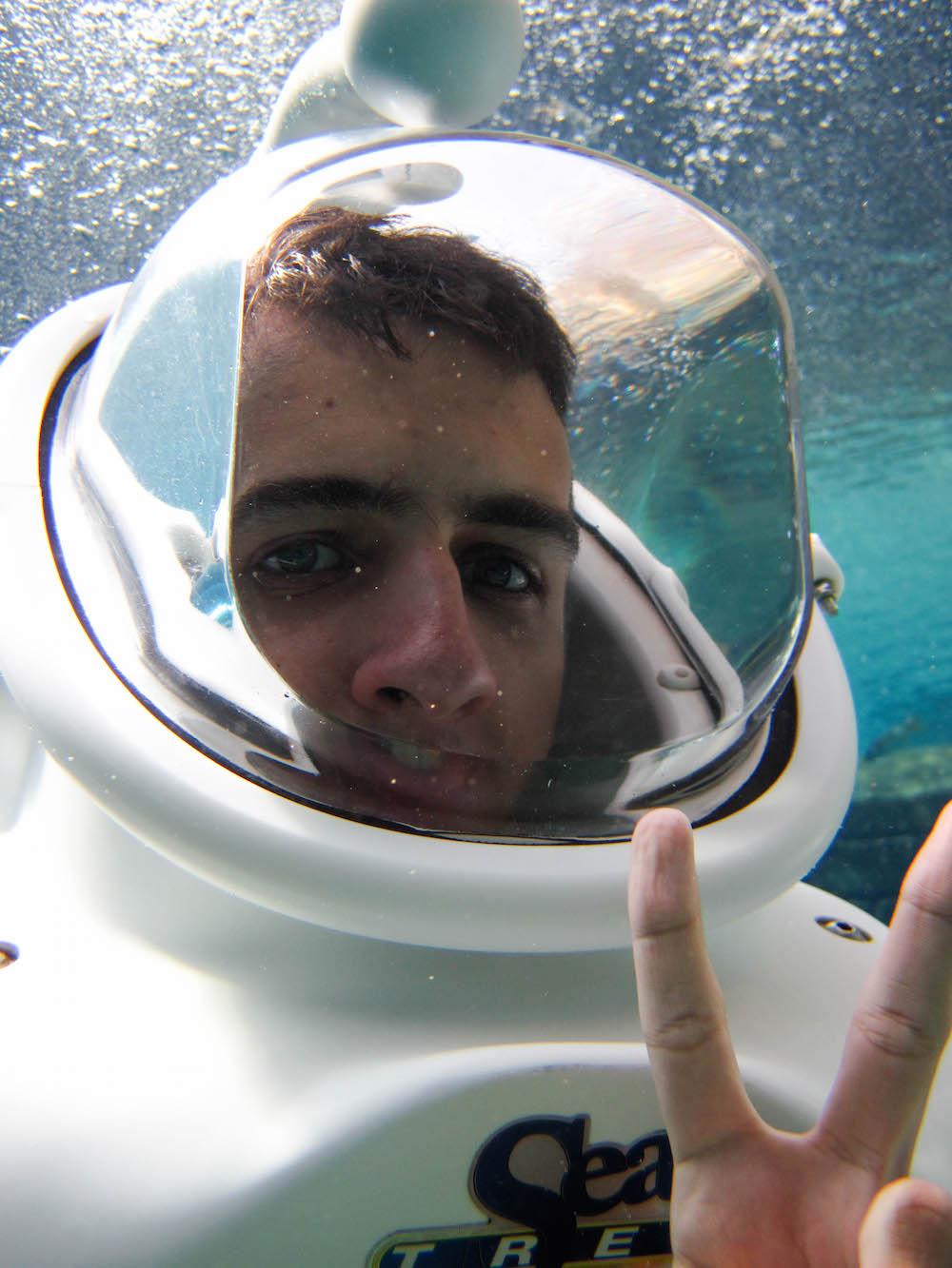 UnderwaterSelfie