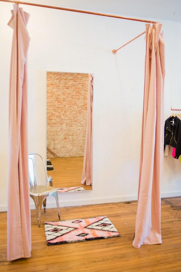Alice Alexander Dressing room