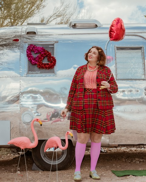 Vintage Airstream Valentine's Day