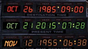 I'm expecting Doc Brown anytime