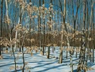 "'Winter Foliage, Mount Nemo"" (2009) by Jamie Kapitain"