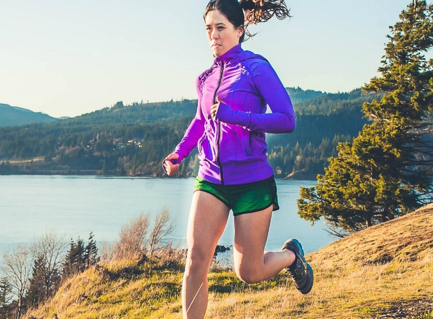 Tiffany Henness, trail runner, Thoroughly thriving