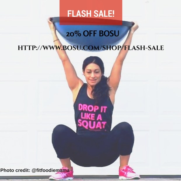 BOSU flash sale