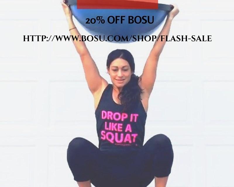 BOSU flash sale