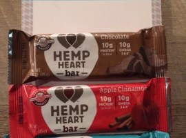 hemp heart bars