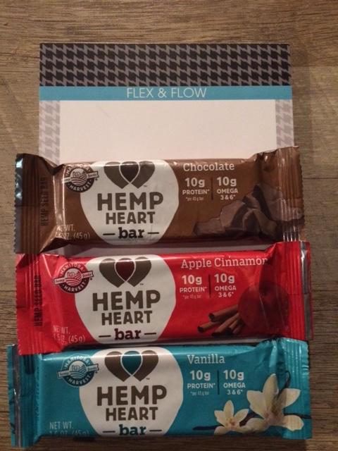 hemp heart bars