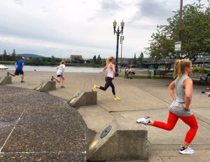 Flex & Flow outdoor bootcamp