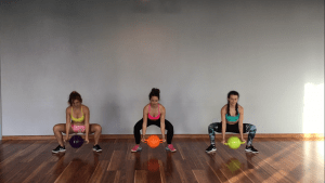 total body workout Kamagon Ball