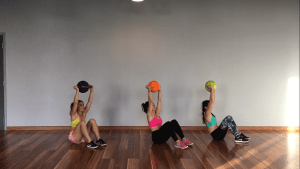 core workout kamagon ball