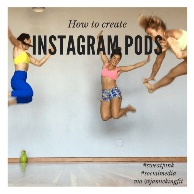 Instagram pods