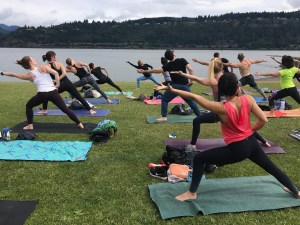 Outdoor yoga flex & Flow