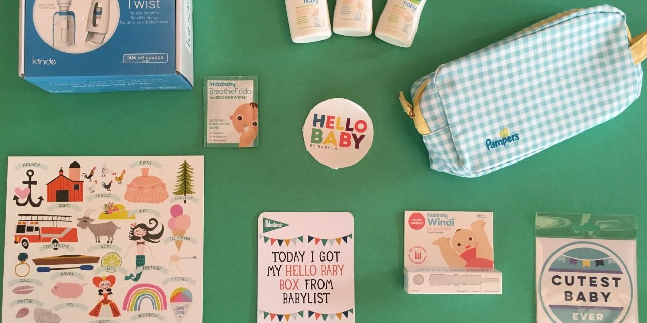 Babylist Hello Baby Box