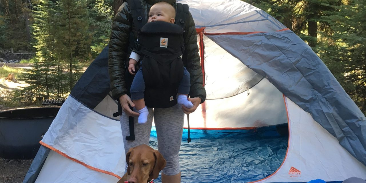 camping with babies