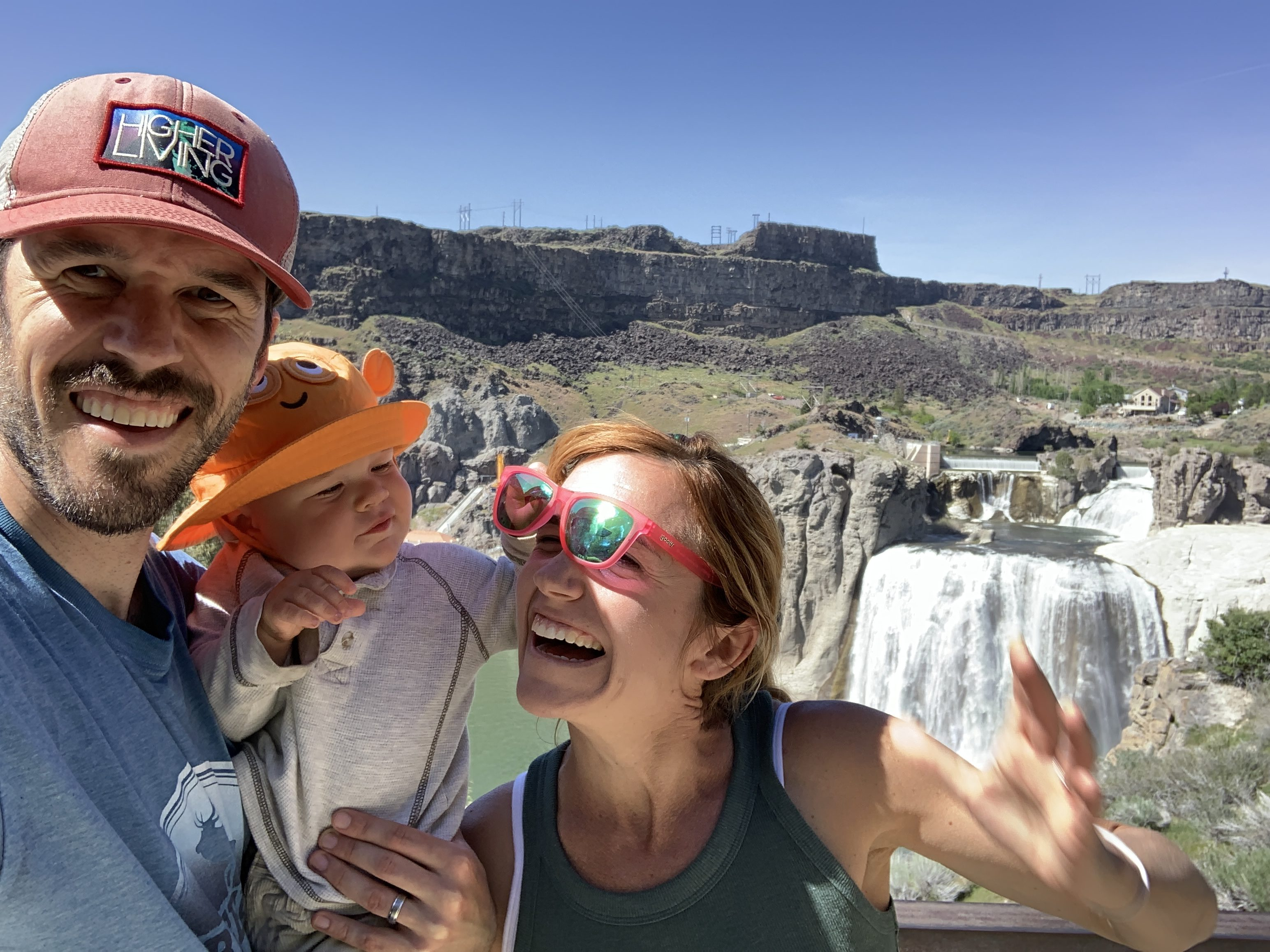 Shoshone Falls idaho travel roadtrip