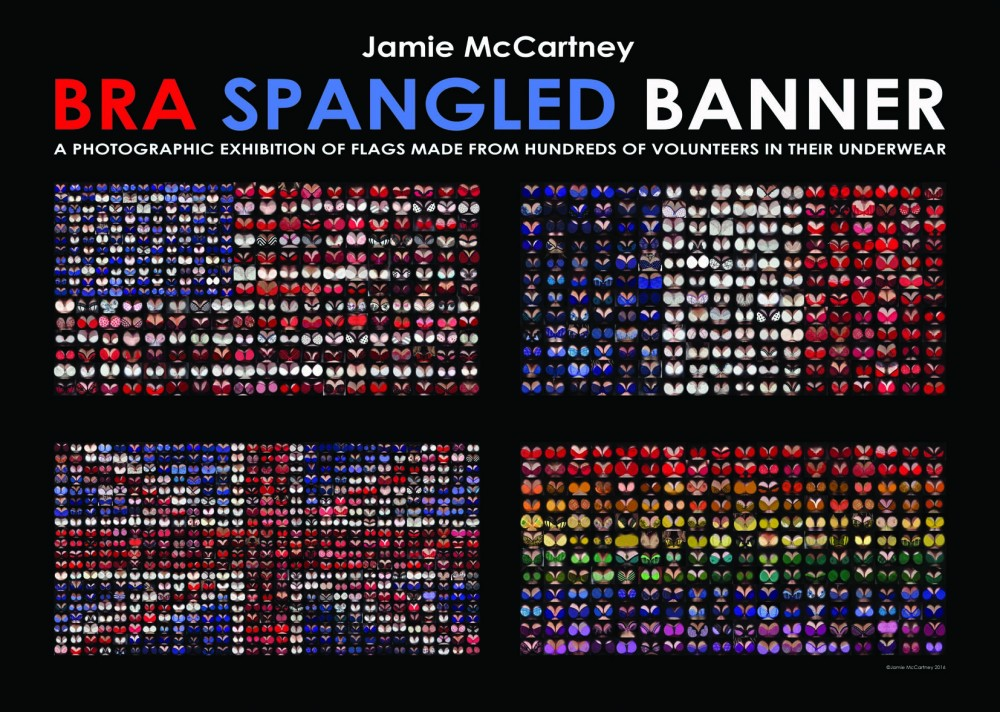 Bra Spangled Banners - 29 Sept - 31 Oct 2016 BRIGHTON Jamie McCartney