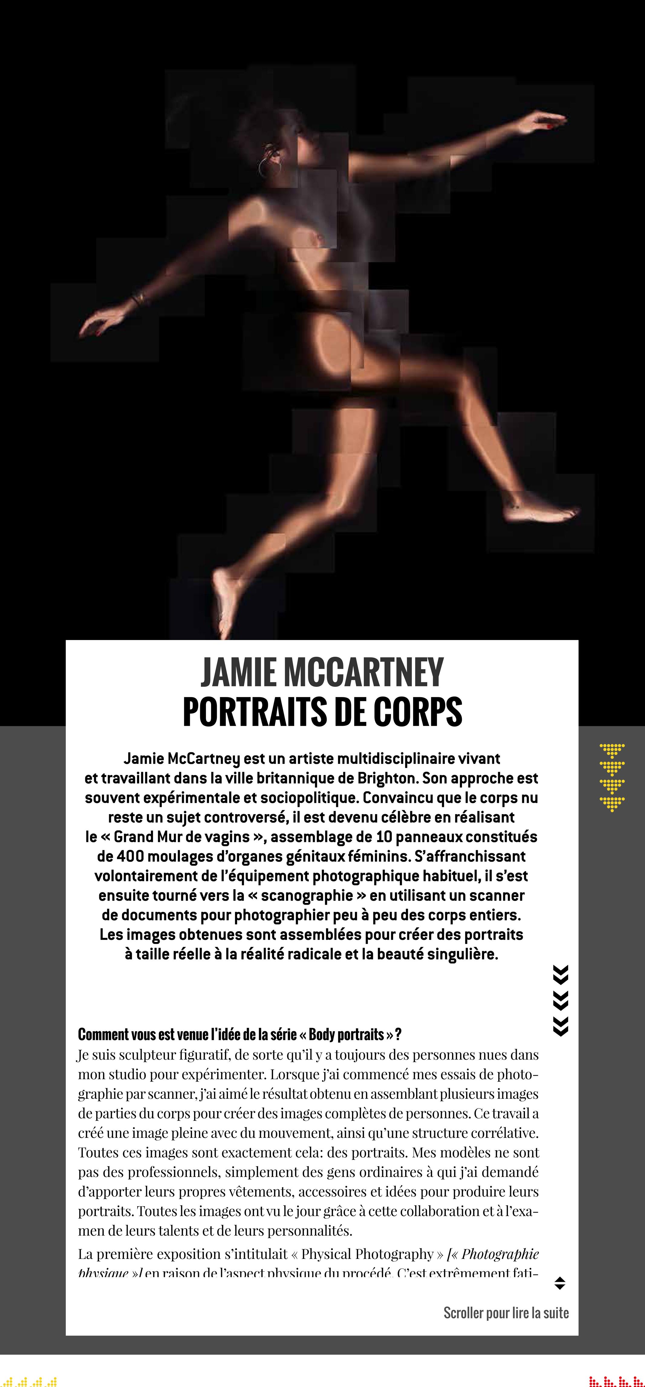 Tous Les Jours Curieux Jamie McCartney