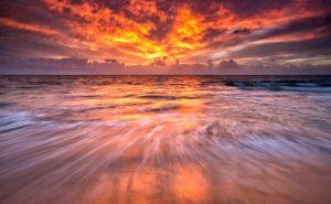 Bennion Beach Sunset