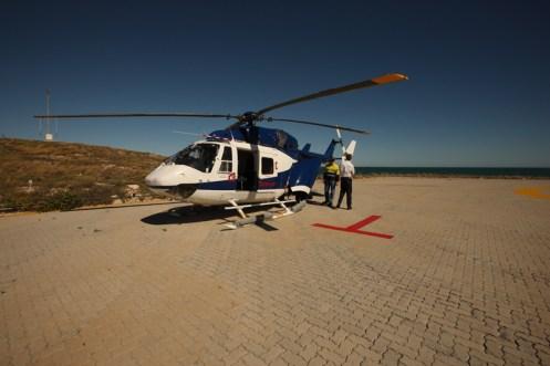 kawasaki bk117 helicopter karratha australian landscapes jamie paterson