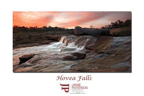 hovea falls australian landscapes seascapes