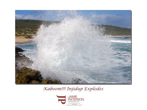 injidup waves surf australian landscapes seascapes