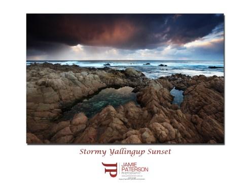 yallingup sunset landscape seascape jamie paterson