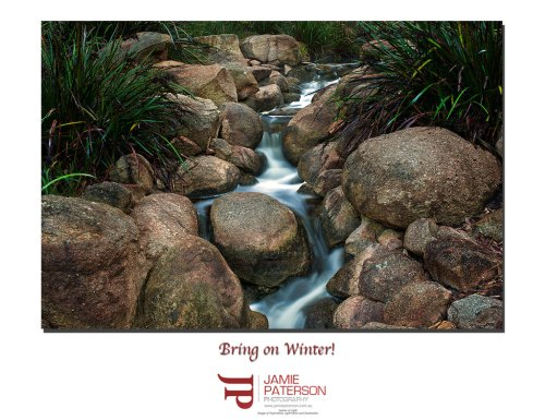 perth australian landscape photography winter stream creek jamie paterson