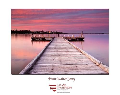 point walter jetty, sunset, australian landscape photography, australian seascape photography