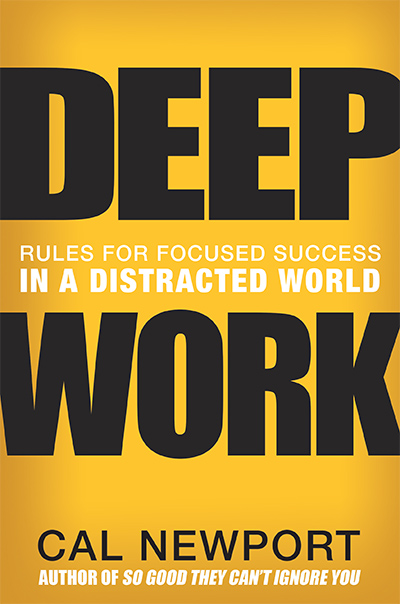 Deep Work cover