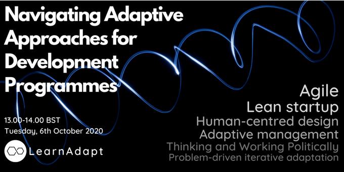 Navigating Adaptive Approaches for Development Programmes