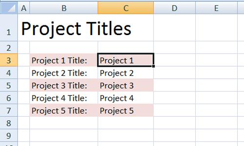 spreadsheet from jamie raintree