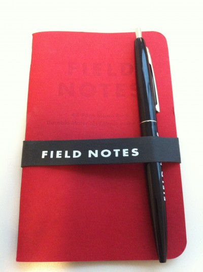 Field Notes notebook