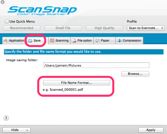 ScanSnap Manager