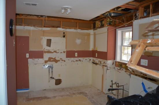 Kitchen Remodel West, Day 1