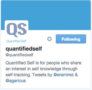 QuantifiedSelf on Twitter