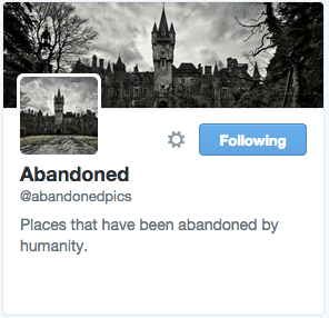 Abandoned on Twitter