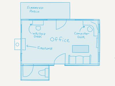 Ideal office floorplan