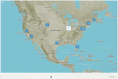 Evernote Atlas, US
