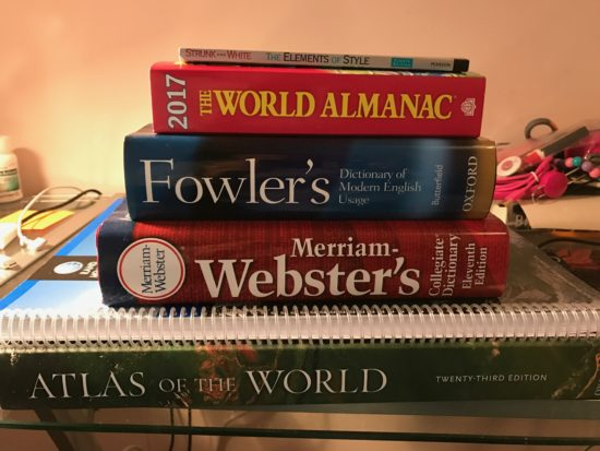 My reference books