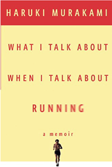 cover of haruki murakami's what i talk about when i talk about running