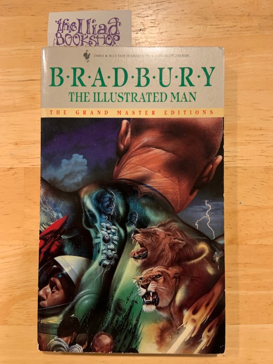 My paperback copy of The Illustrated Man