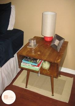 DIY Mid Century Modern Style Nightstand Tutorial