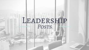 Leadership Posts