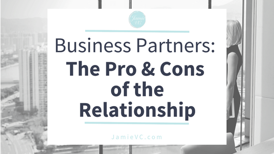 Business Partners: The Pros and Cons of the Relationship