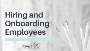 Hiring and Onboarding Employees Header