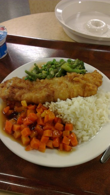 Friday Fish, Veg & Rice