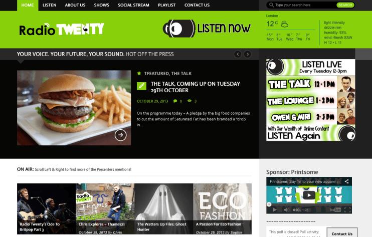 Radio Twenty The Talk